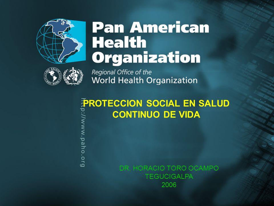 PROTECCION SOCIAL EN SALUD CONTINUO DE VIDA