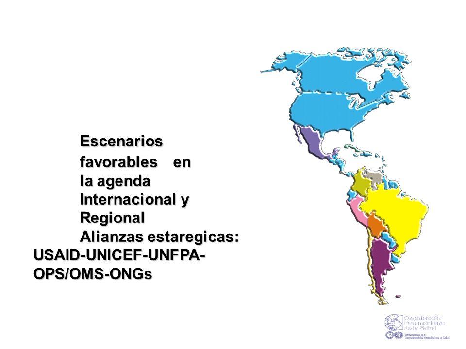 I. Escenarios favorables en la agenda Internacional y Regional