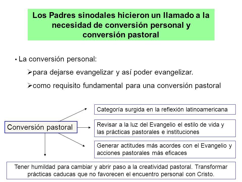 Los Padres sinodales hicieron un llamado a la necesidad de conversión personal y conversión pastoral