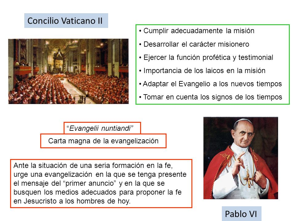 Carta magna de la evangelización