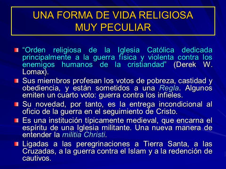UNA FORMA DE VIDA RELIGIOSA MUY PECULIAR