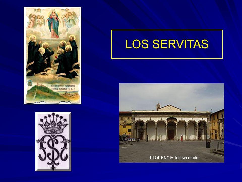 LOS SERVITAS FLORENCIA. Iglesia madre