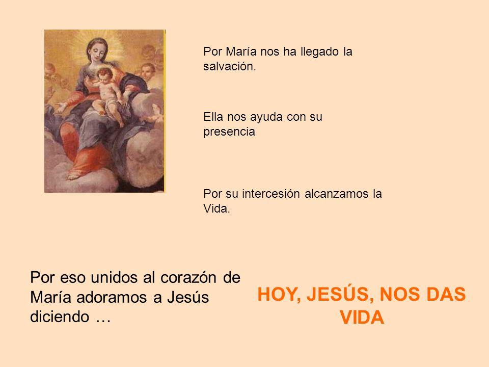 Por María nos ha llegado la salvación.