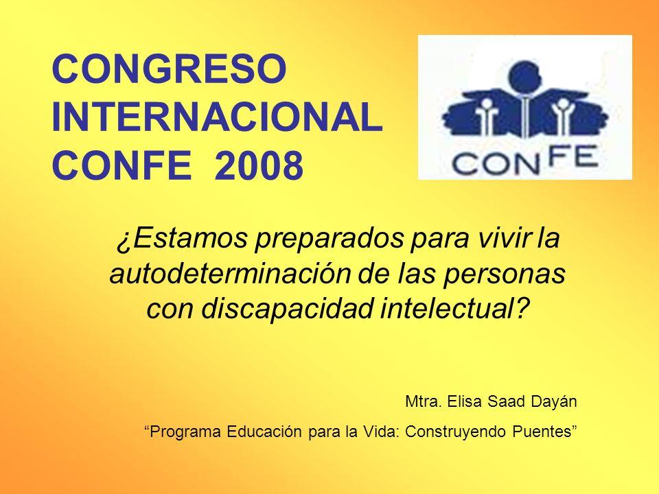 CONGRESO INTERNACIONAL CONFE 2008