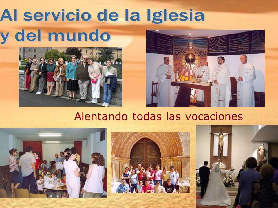 Al servicio de la Iglesia y del mundo