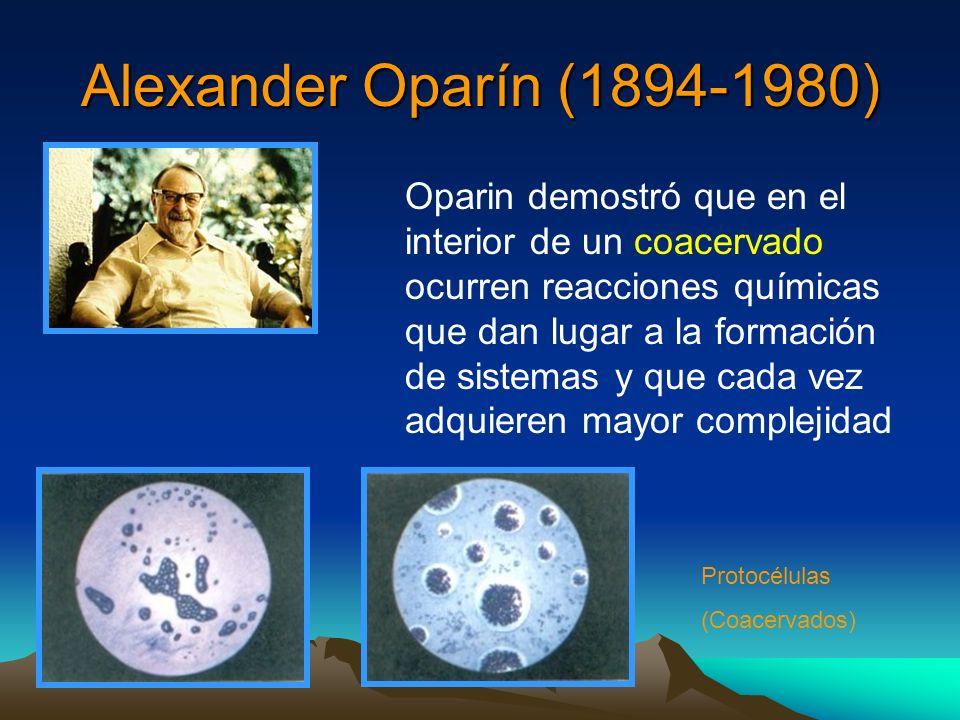 Alexander Oparín (1894-1980)