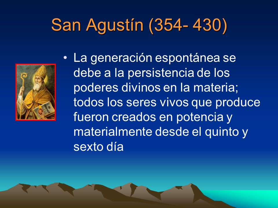 San Agustín (354- 430)