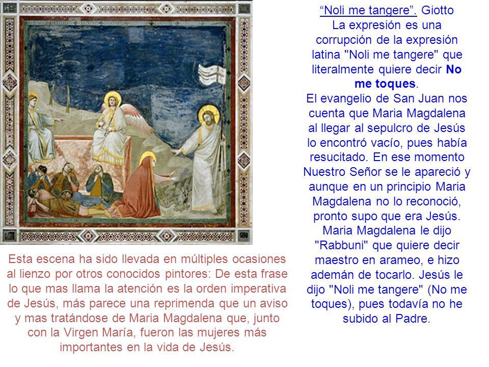 Noli me tangere . Giotto