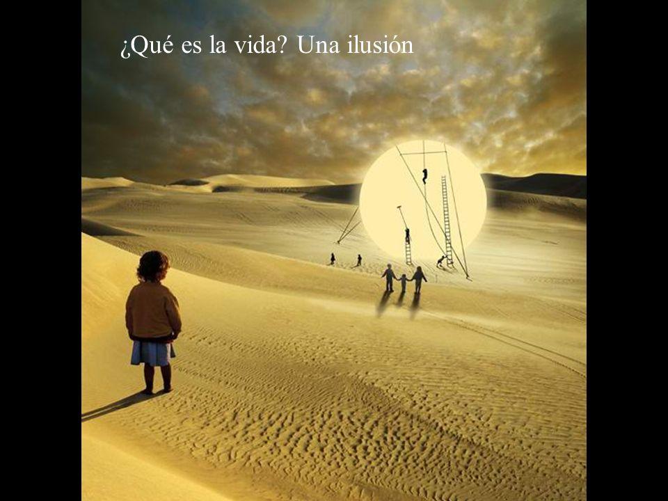 ¿Qué es la vida Una ilusión