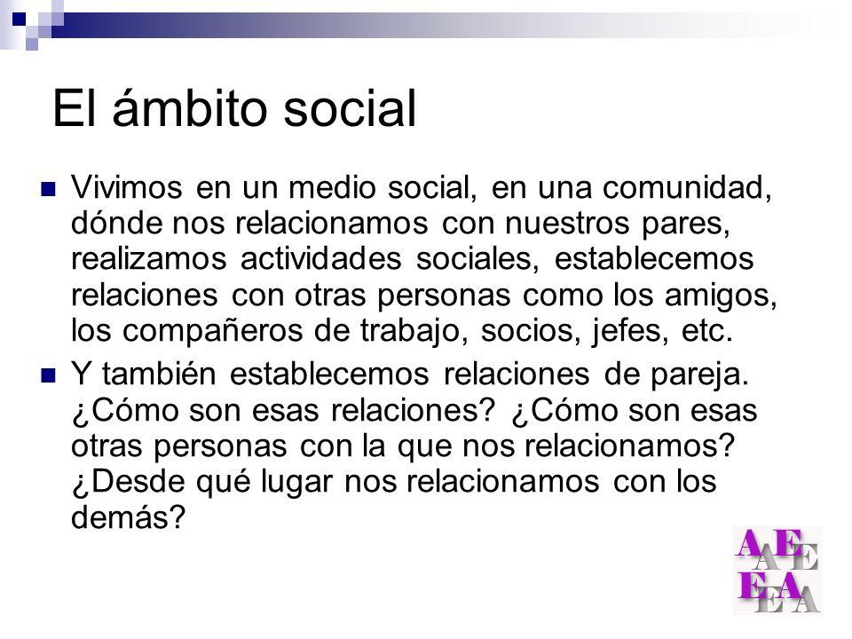 El ámbito social