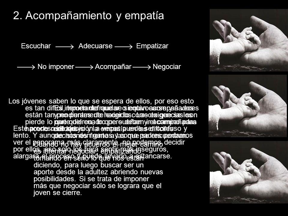 2. Acompañamiento y empatía