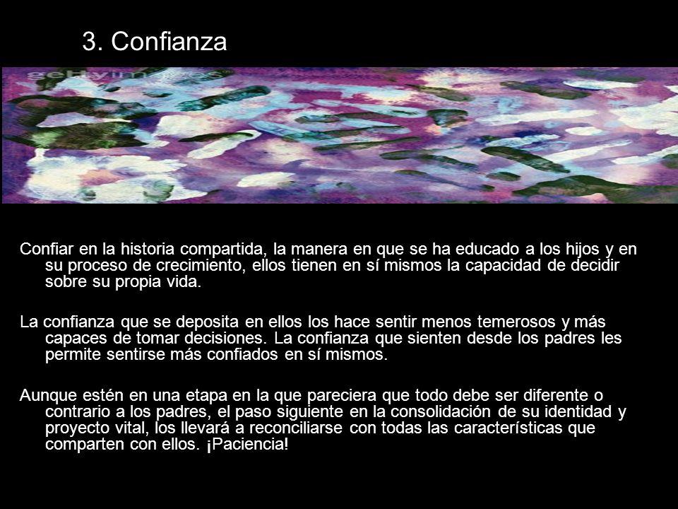 3. Confianza