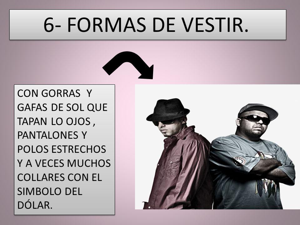 6- FORMAS DE VESTIR.