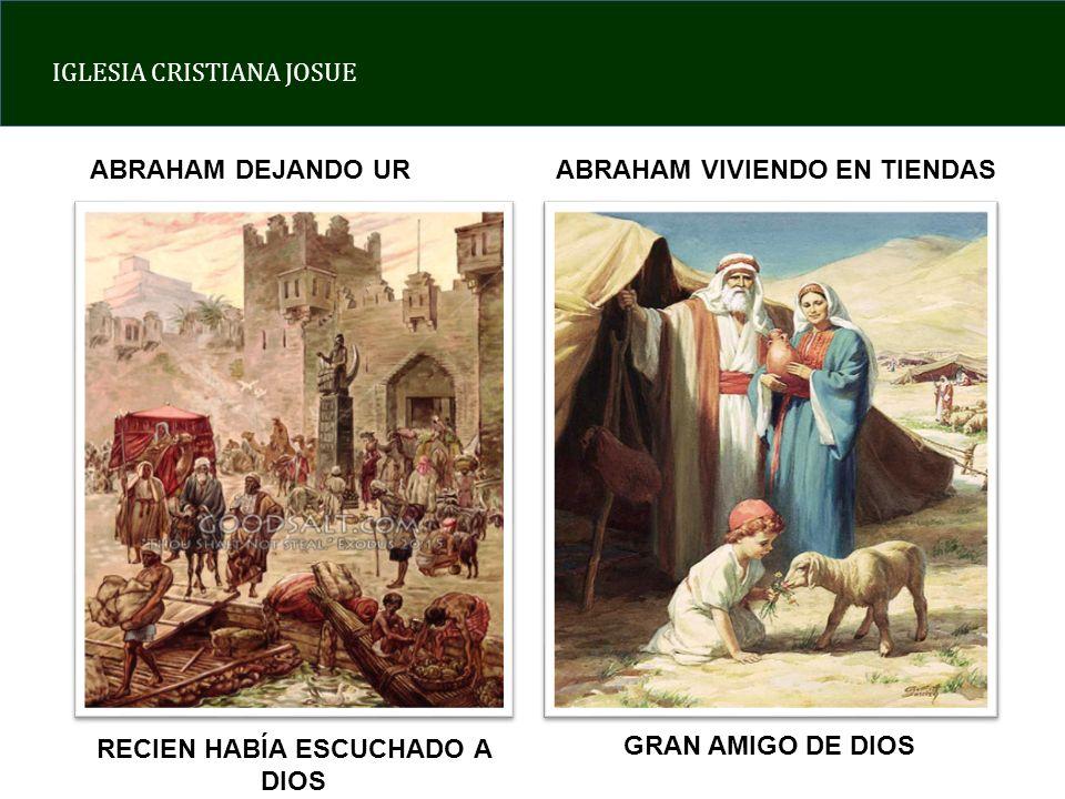 RECIEN HABÍA ESCUCHADO A DIOS