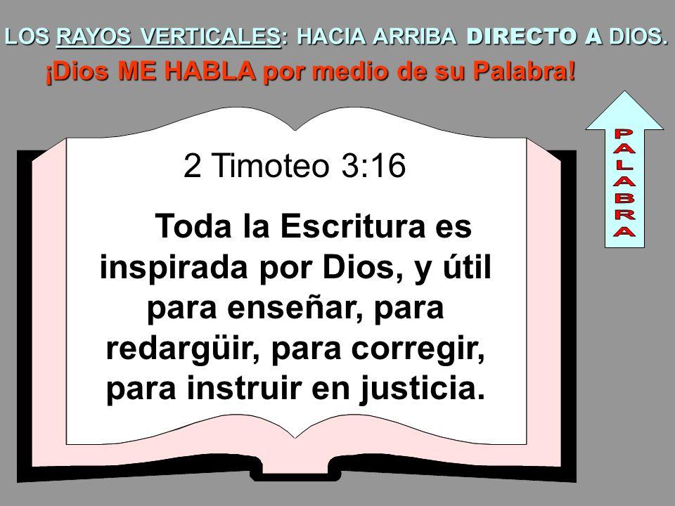 LOS RAYOS VERTICALES: HACIA ARRIBA DIRECTO A DIOS.