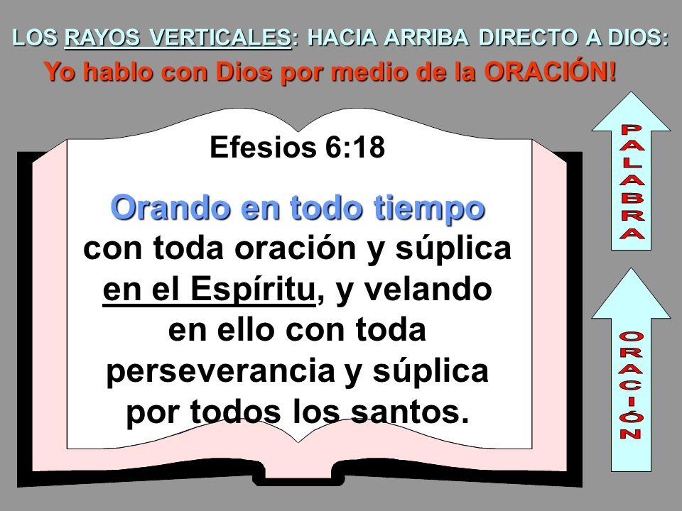 LOS RAYOS VERTICALES: HACIA ARRIBA DIRECTO A DIOS: