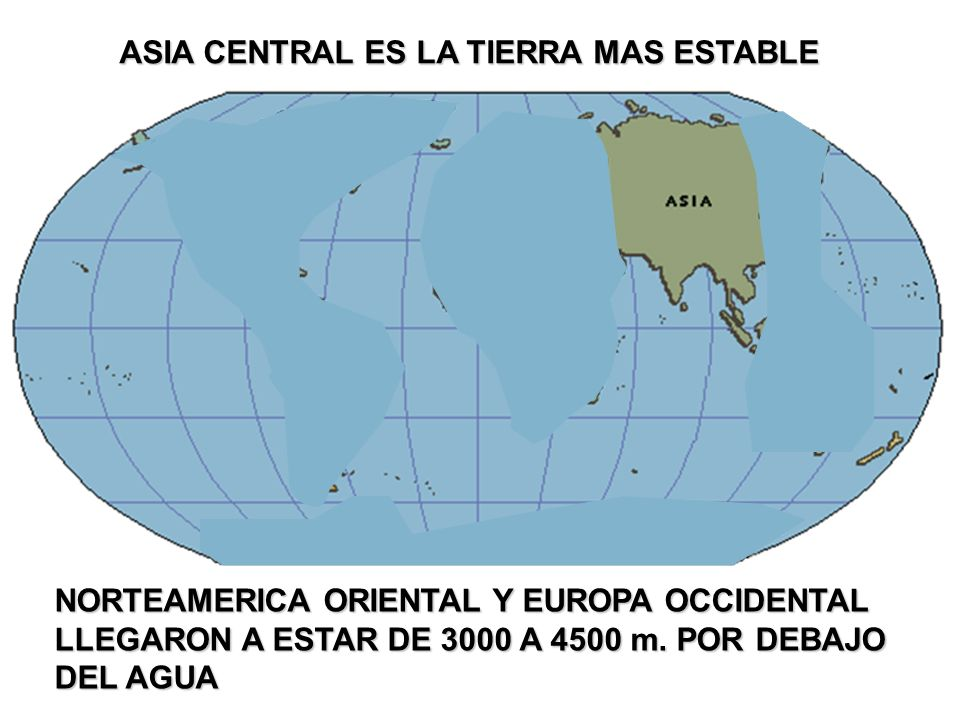 ASIA CENTRAL ES LA TIERRA MAS ESTABLE