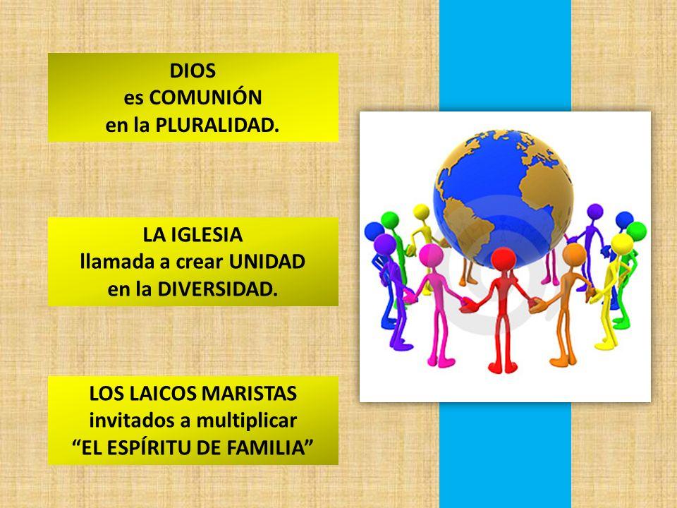invitados a multiplicar EL ESPÍRITU DE FAMILIA