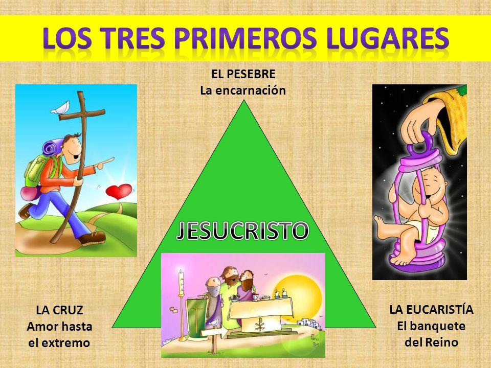 LOS TRES PRIMEROS LUGARES