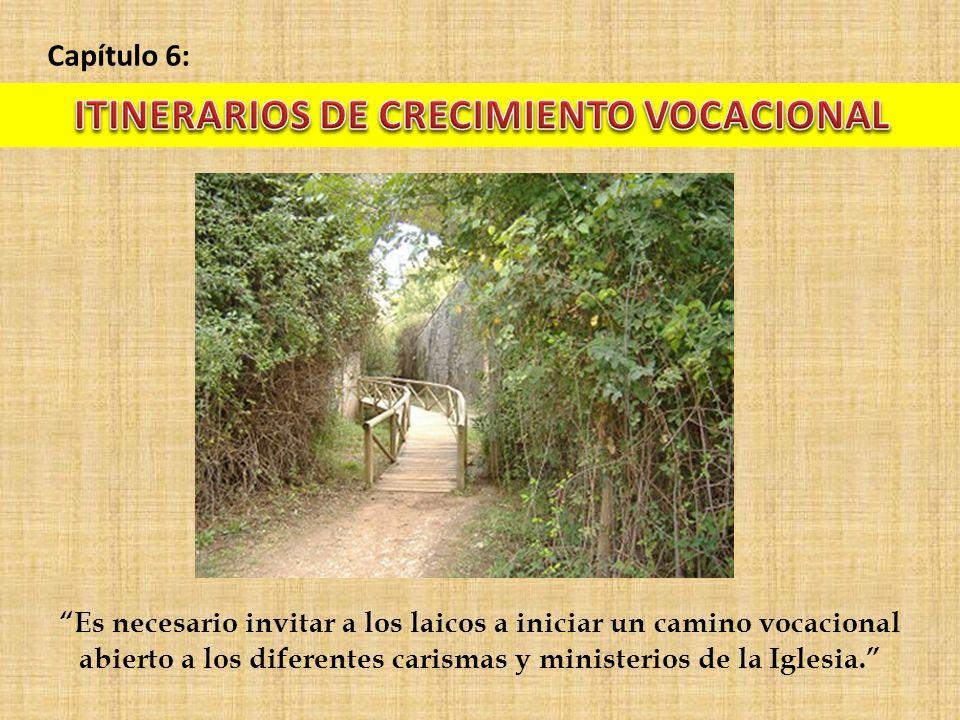 ITINERARIOS DE CRECIMIENTO VOCACIONAL