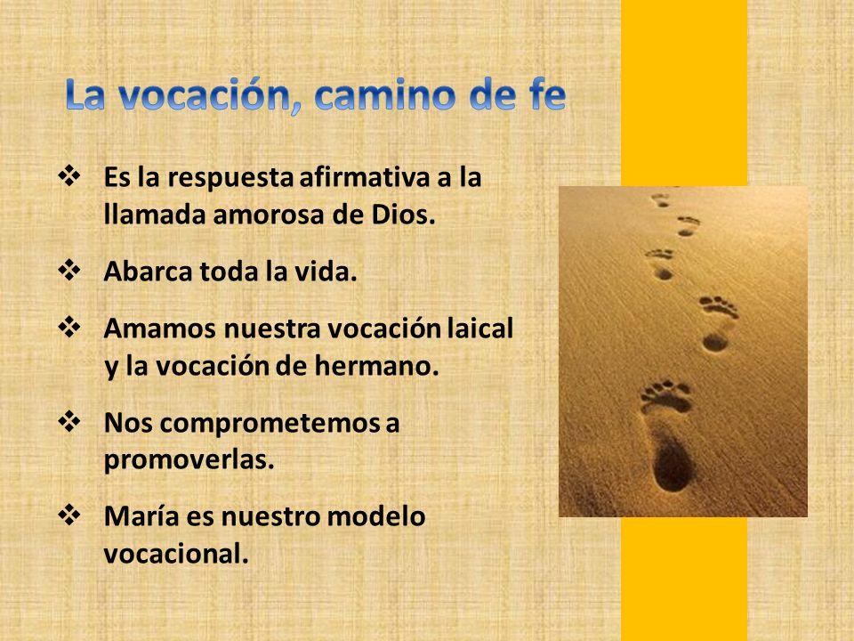 La vocación, camino de fe