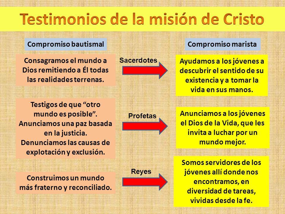 Testimonios de la misión de Cristo