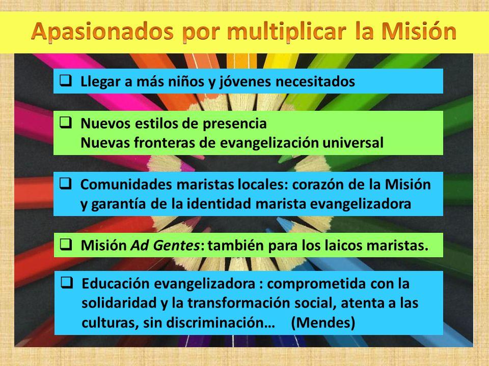 Apasionados por multiplicar la Misión