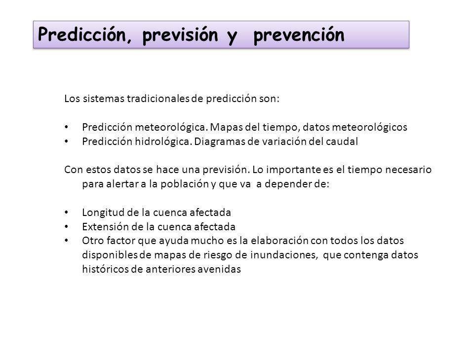 Predicción, previsión y prevención