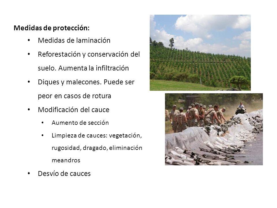 Medidas de protección: Medidas de laminación