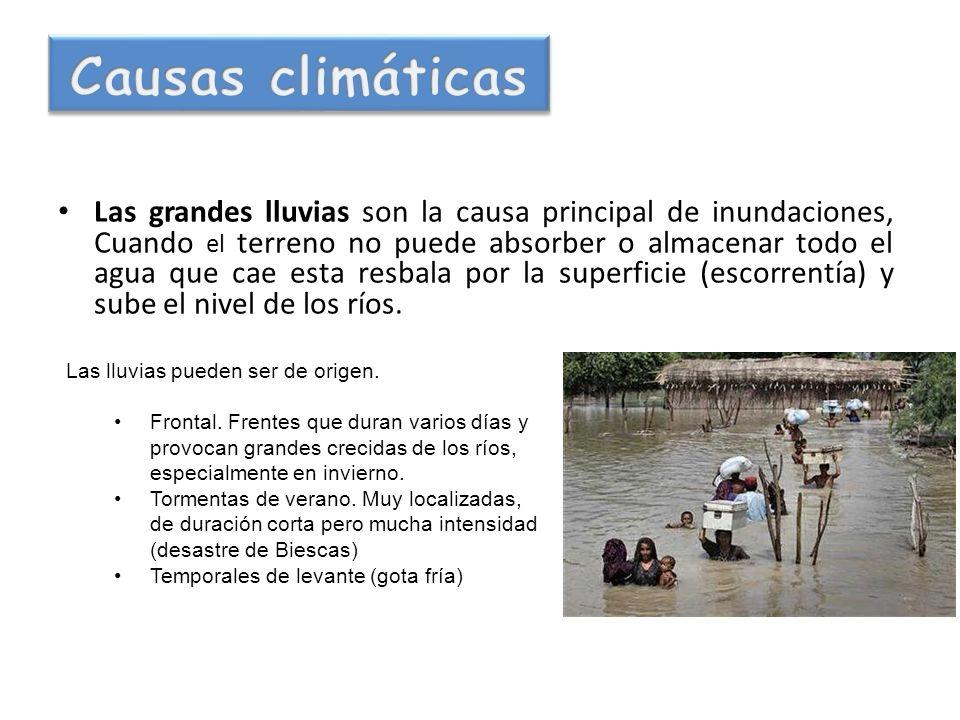 Causas climáticas
