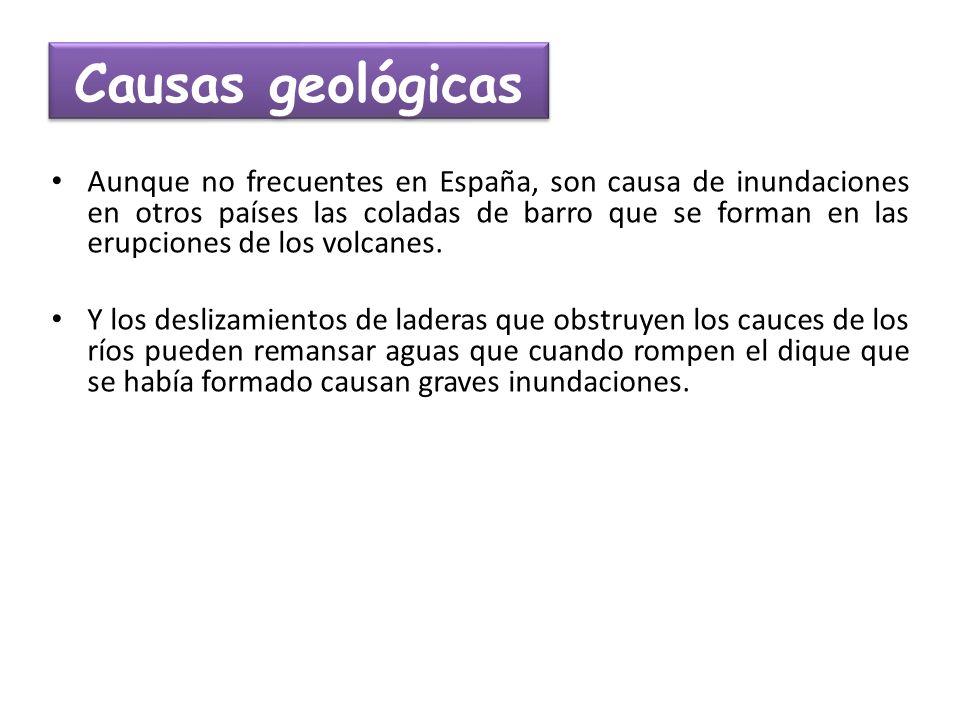Causas geológicas