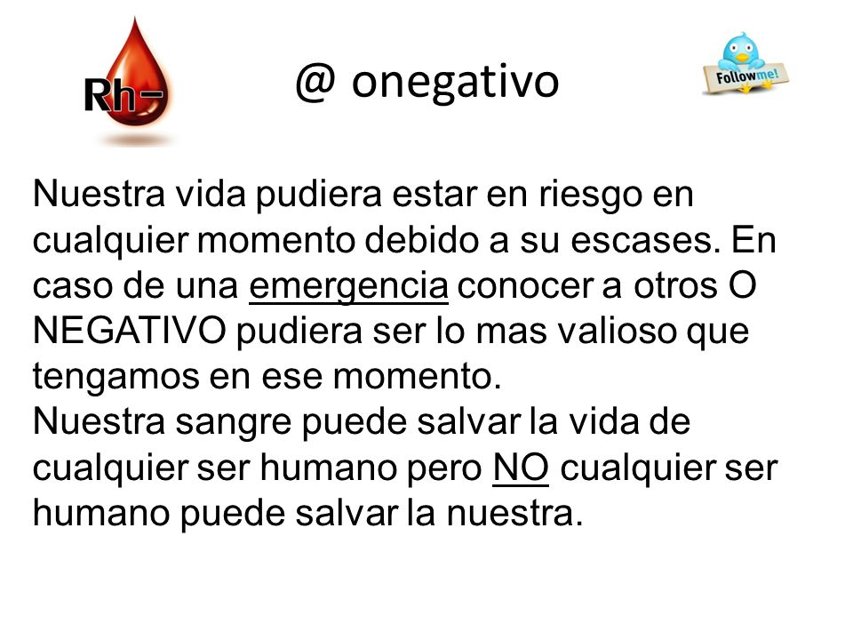 @ onegativo