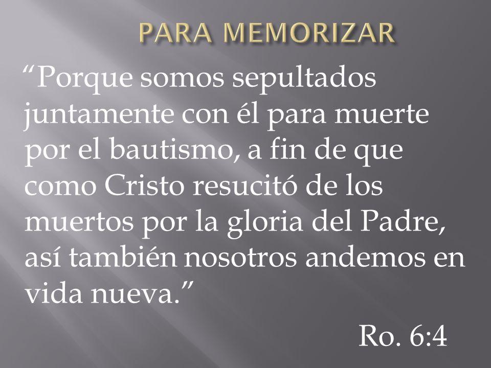 PARA MEMORIZAR