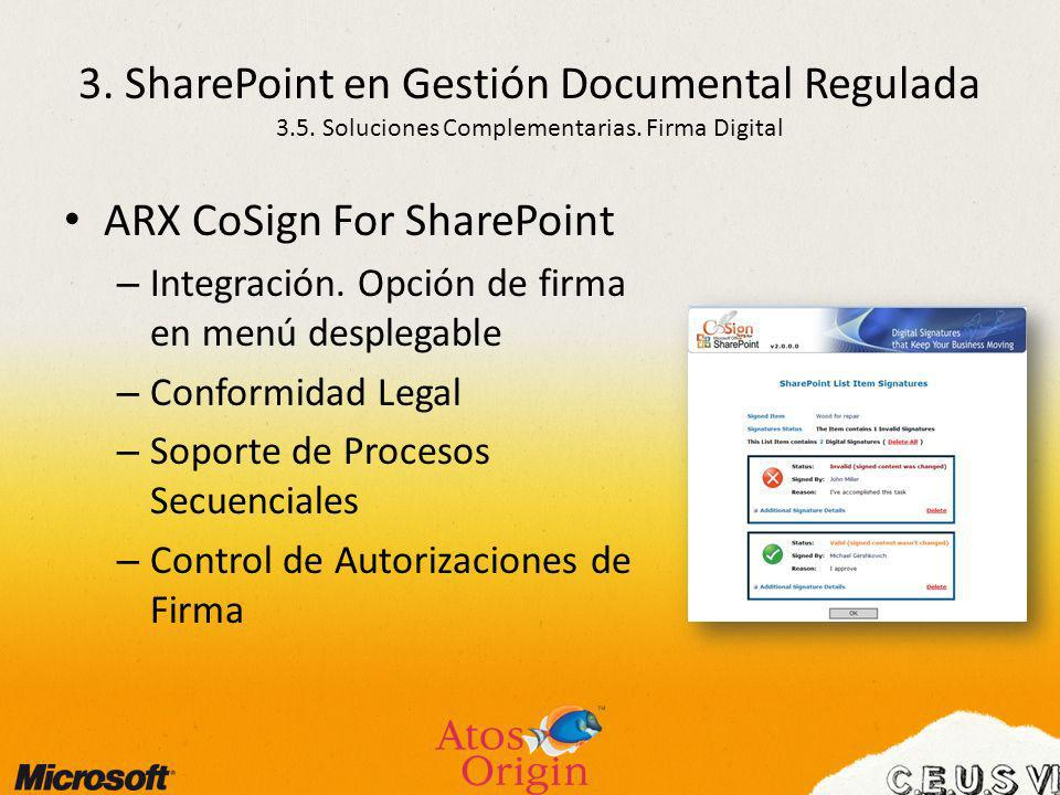 ARX CoSign For SharePoint