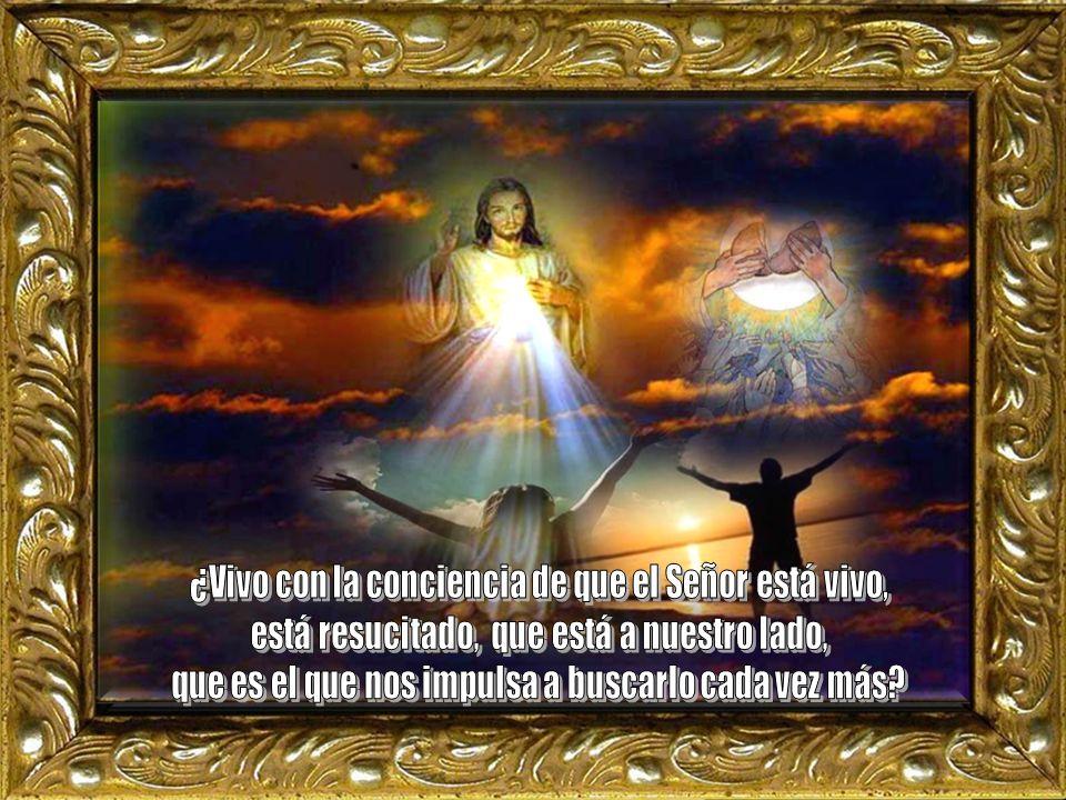 ¿Vivo con la conciencia de que el Señor está vivo,