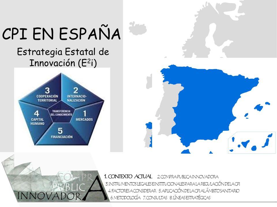 Estrategia Estatal de Innovación (E2i)