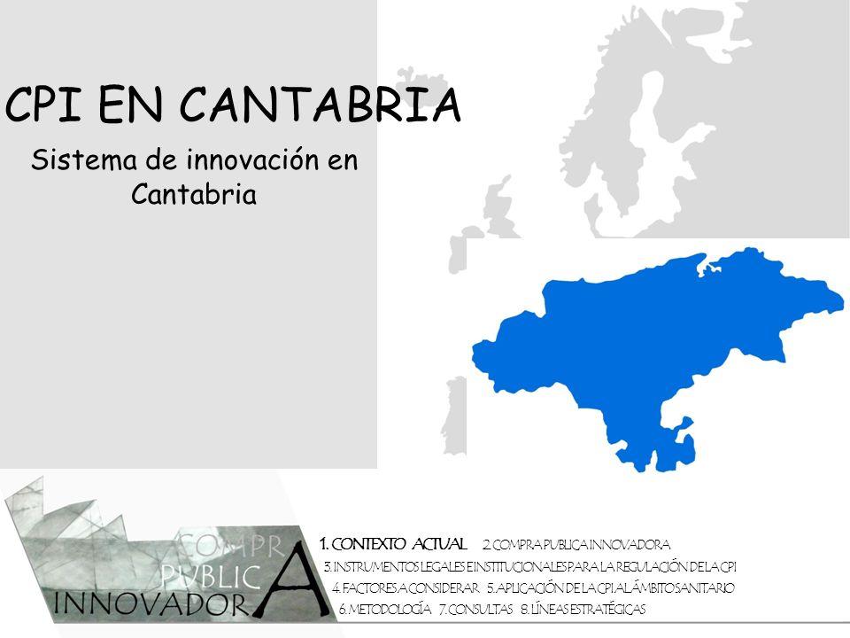 Sistema de innovación en Cantabria