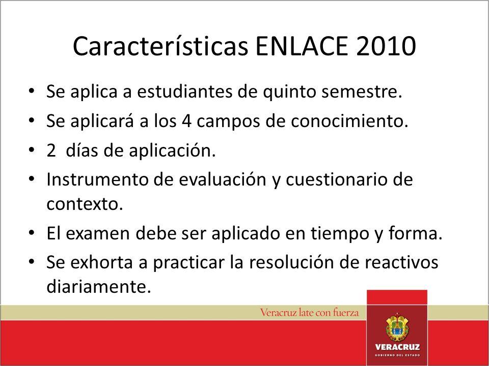 Características ENLACE 2010
