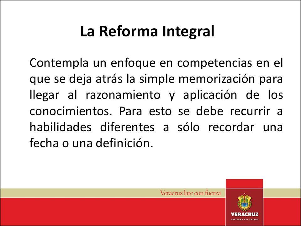La Reforma Integral
