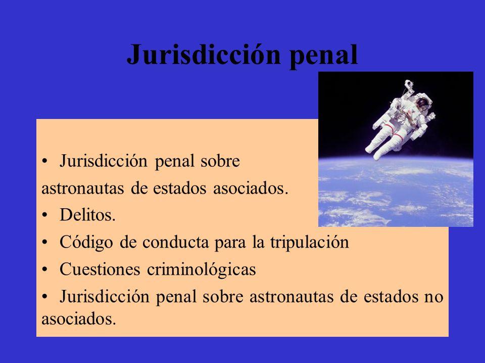 Jurisdicción penal Jurisdicción penal sobre