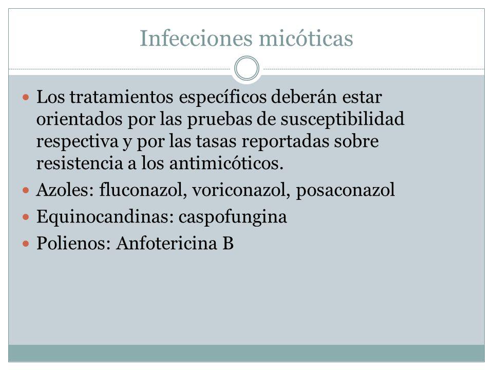 Infecciones micóticas