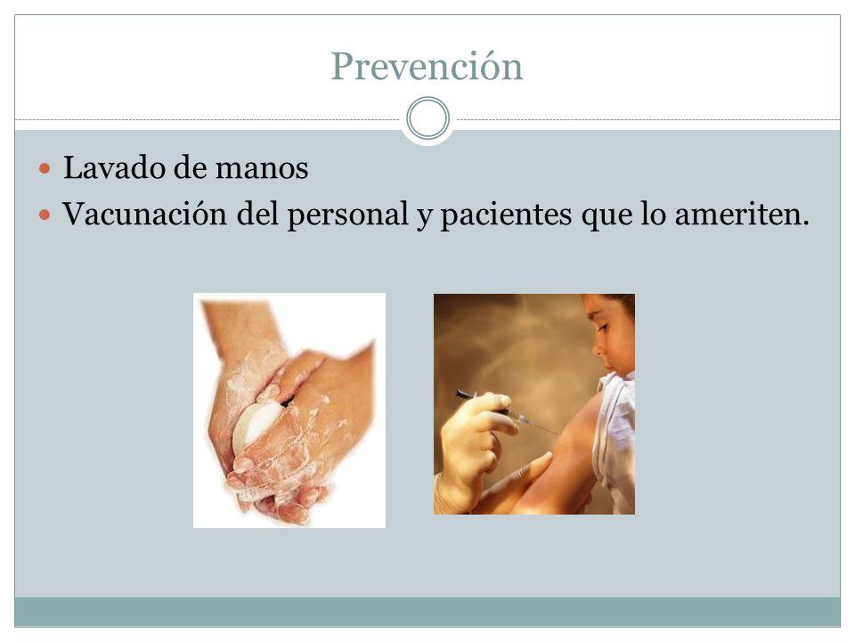 Prevención Lavado de manos