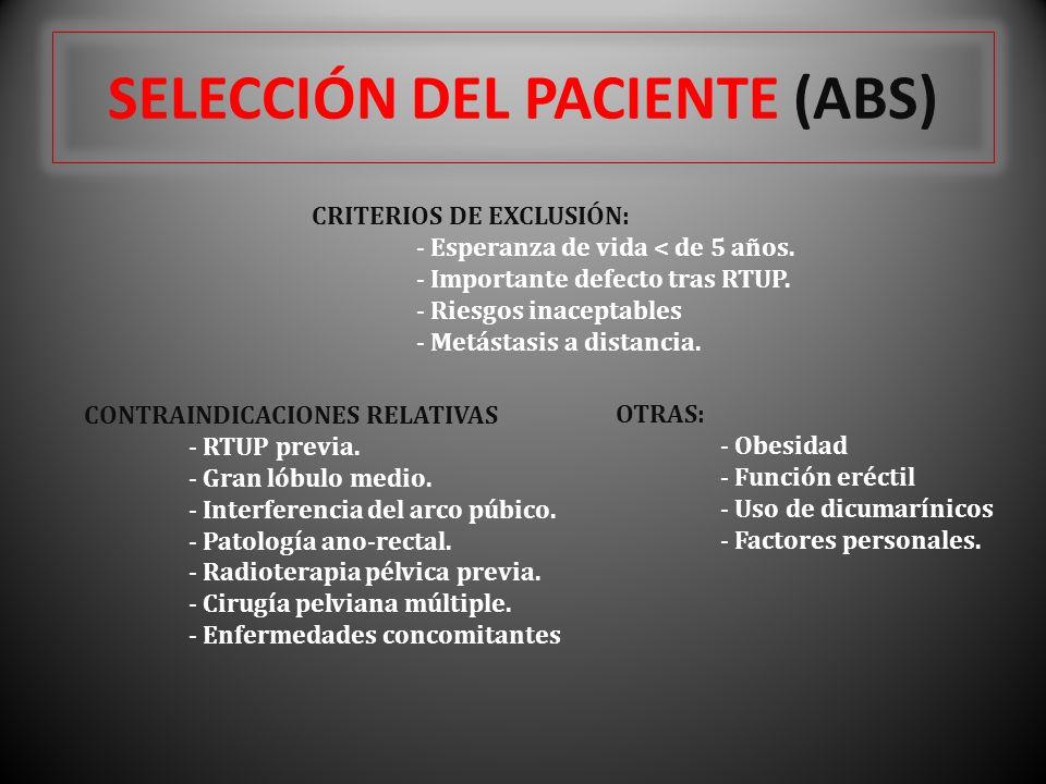 SELECCIÓN DEL PACIENTE (ABS)