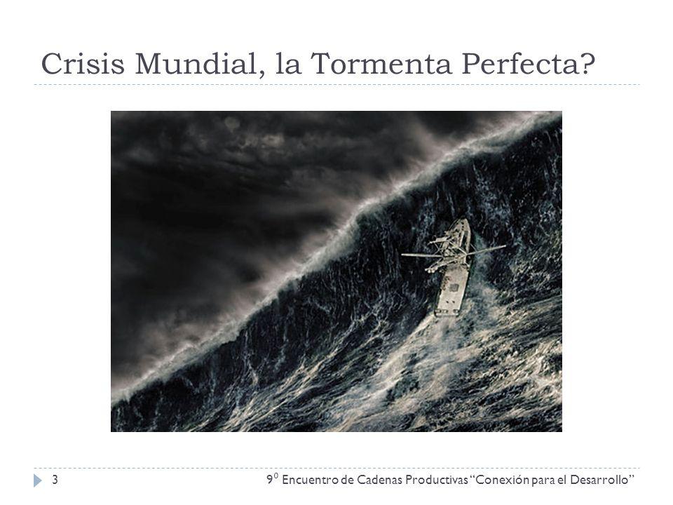 Crisis Mundial, la Tormenta Perfecta