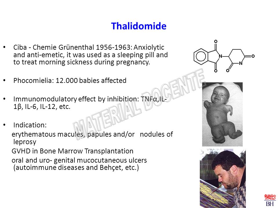 MATERIAL DOCENTE Thalidomide