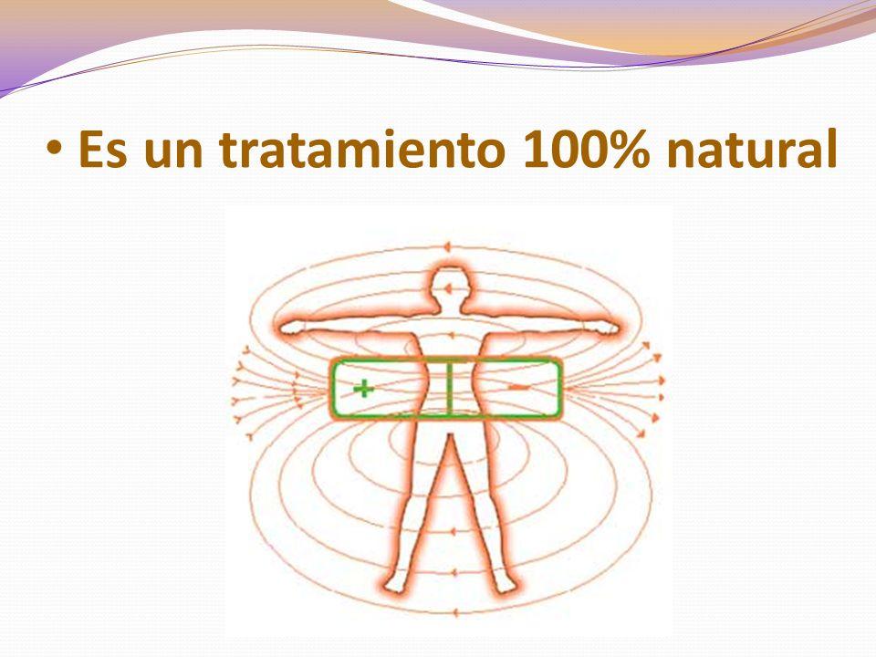 Es un tratamiento 100% natural