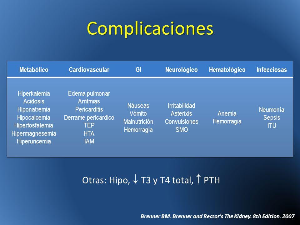 Otras: Hipo,  T3 y T4 total,  PTH