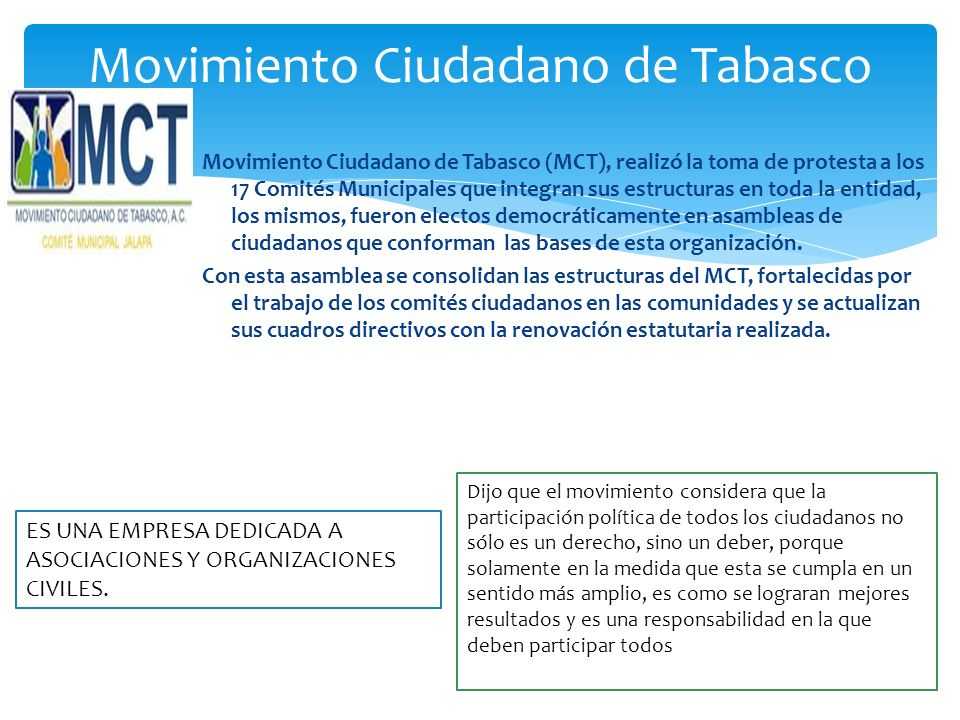Movimiento Ciudadano de Tabasco