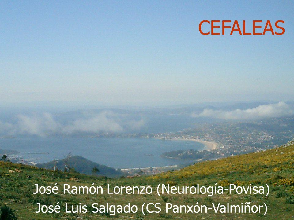 CEFALEAS José Ramón Lorenzo (Neurología-Povisa)