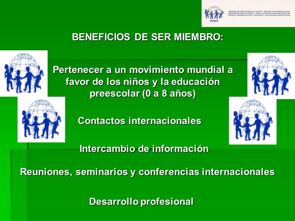 BENEFICIOS DE SER MIEMBRO: